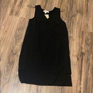 Michael Korda basic black dress